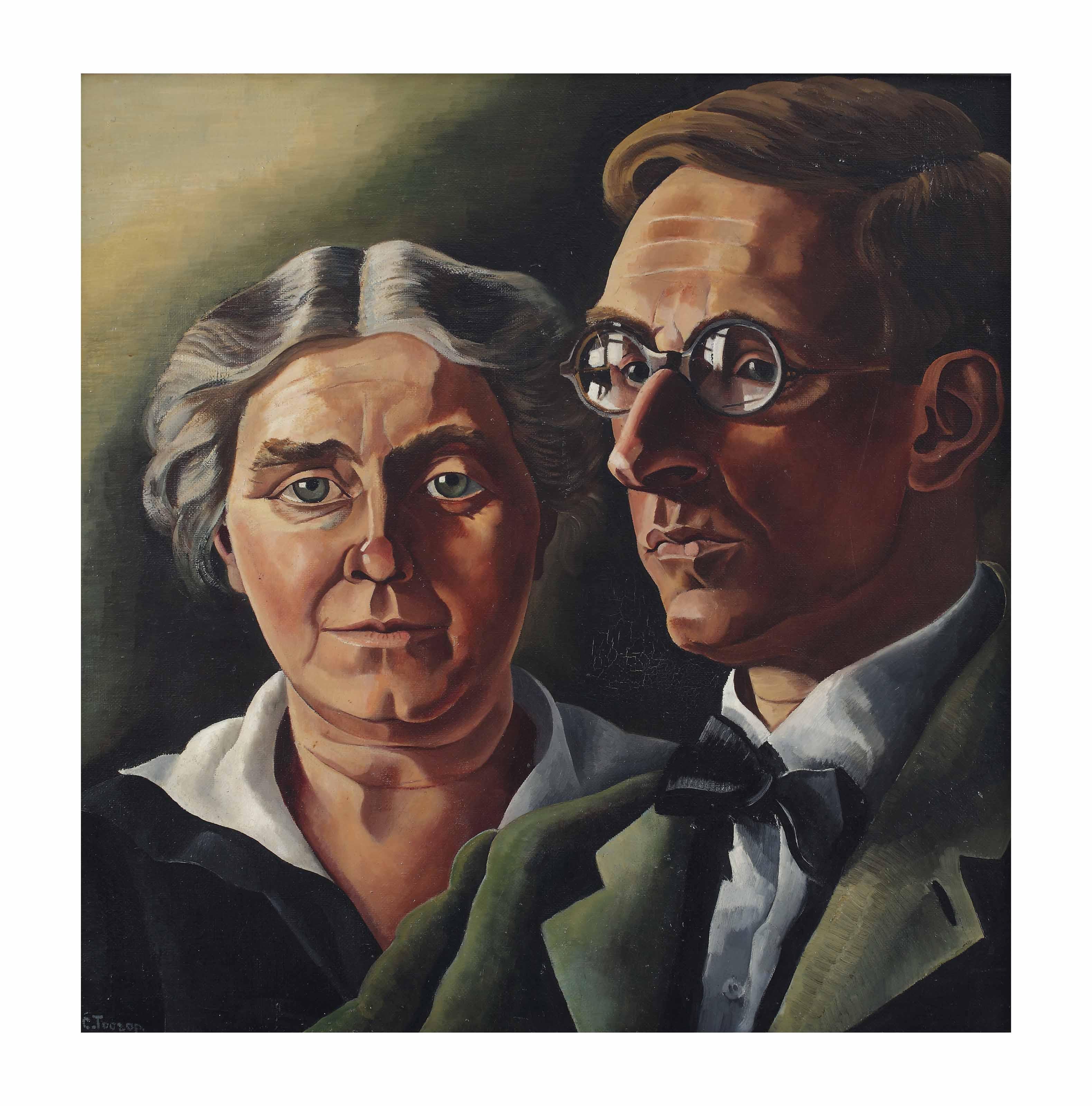 De schilder Jacob Nieweg en zijn vrouw Neine