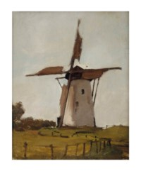 Witte molen, Wijk bij Duurstede: the windmill