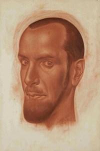 Portrait of Alexandre Iacovleff (1887-1938)