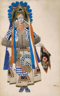 Costume design for 'Moskwa'
