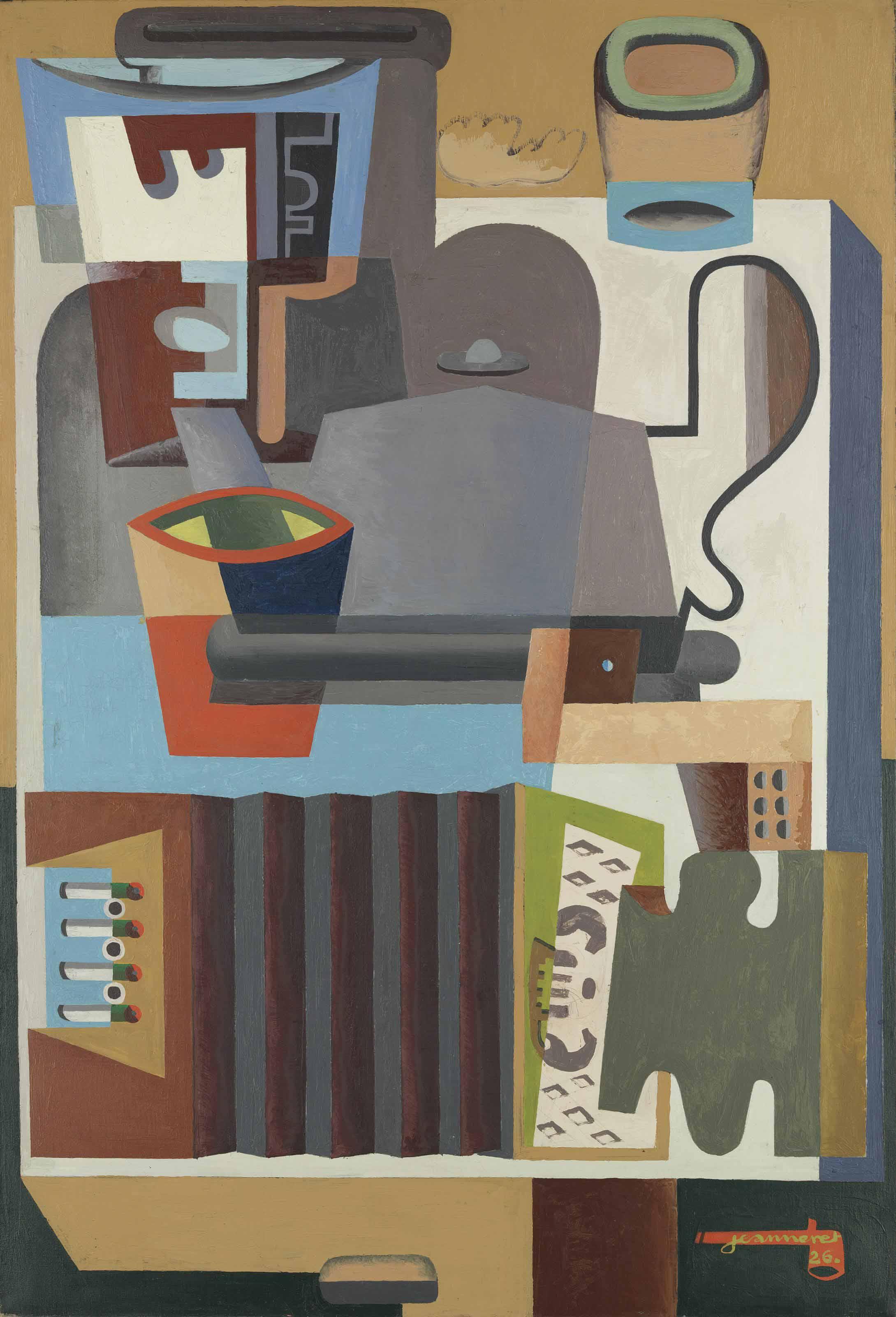 Le Corbusier (1887-1965) | Accordéon, carafe et cafetière | Christie's