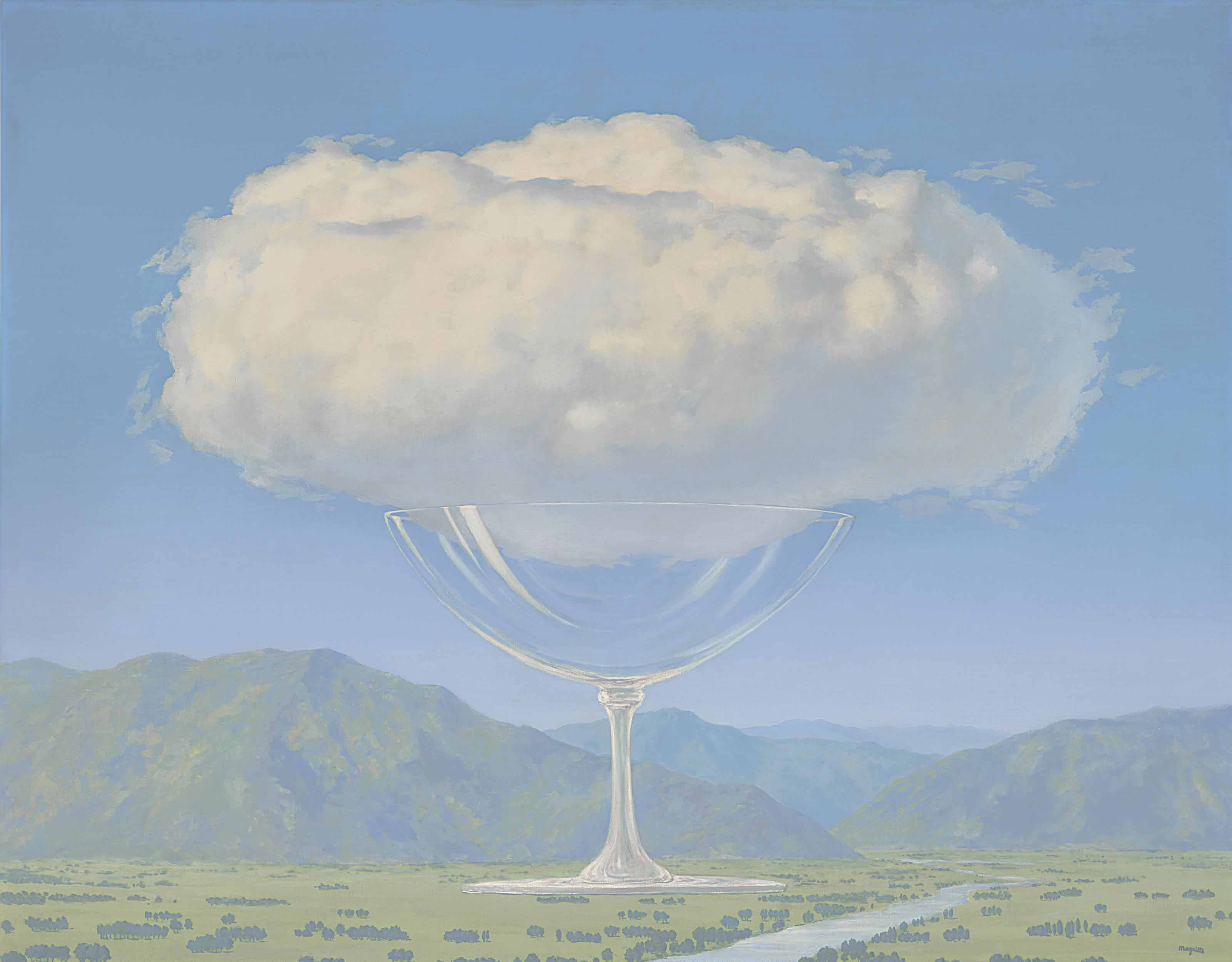 Rene Magritte Surreal Lot 110