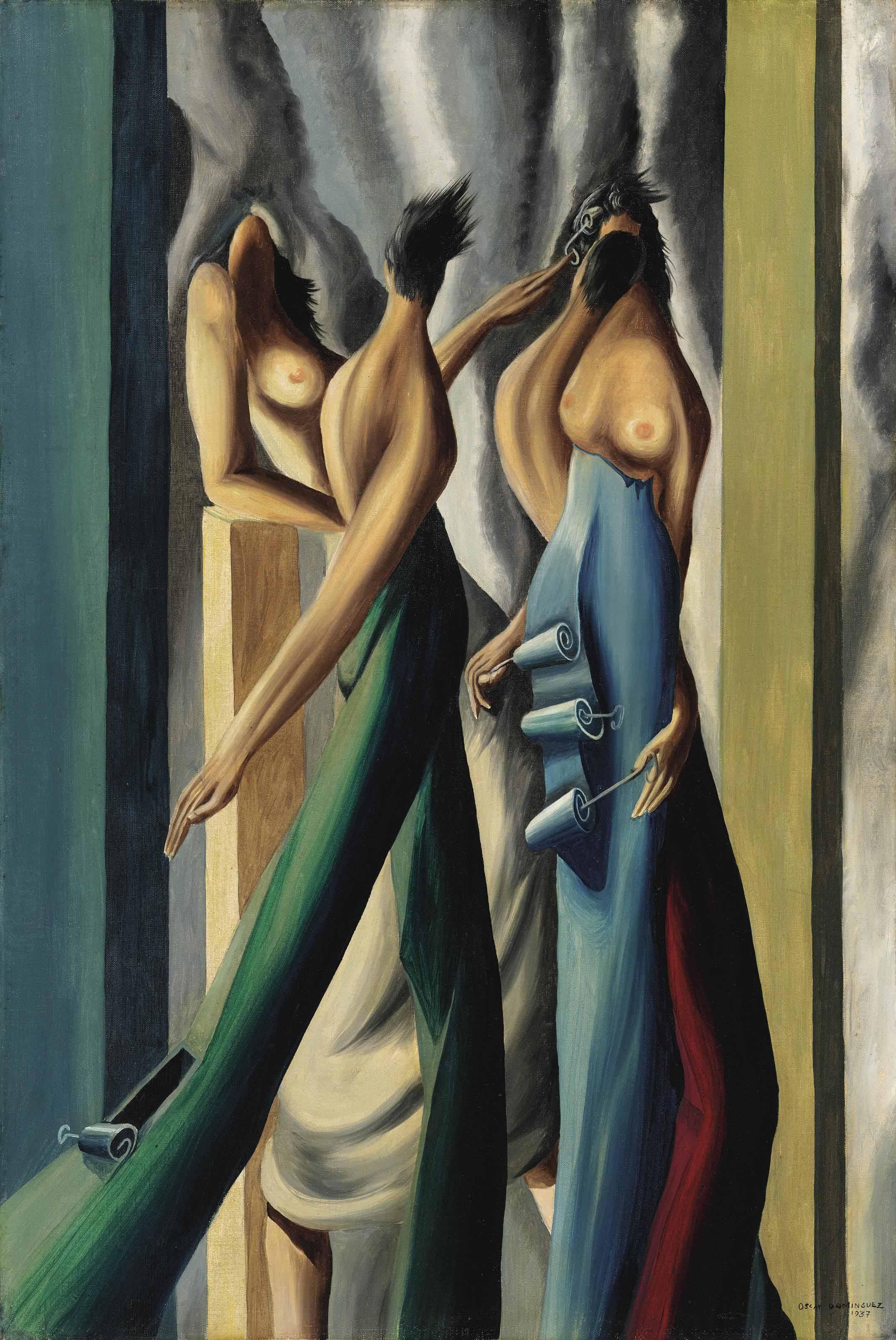 Femmes aux boîtes de sardines (Deux couples)