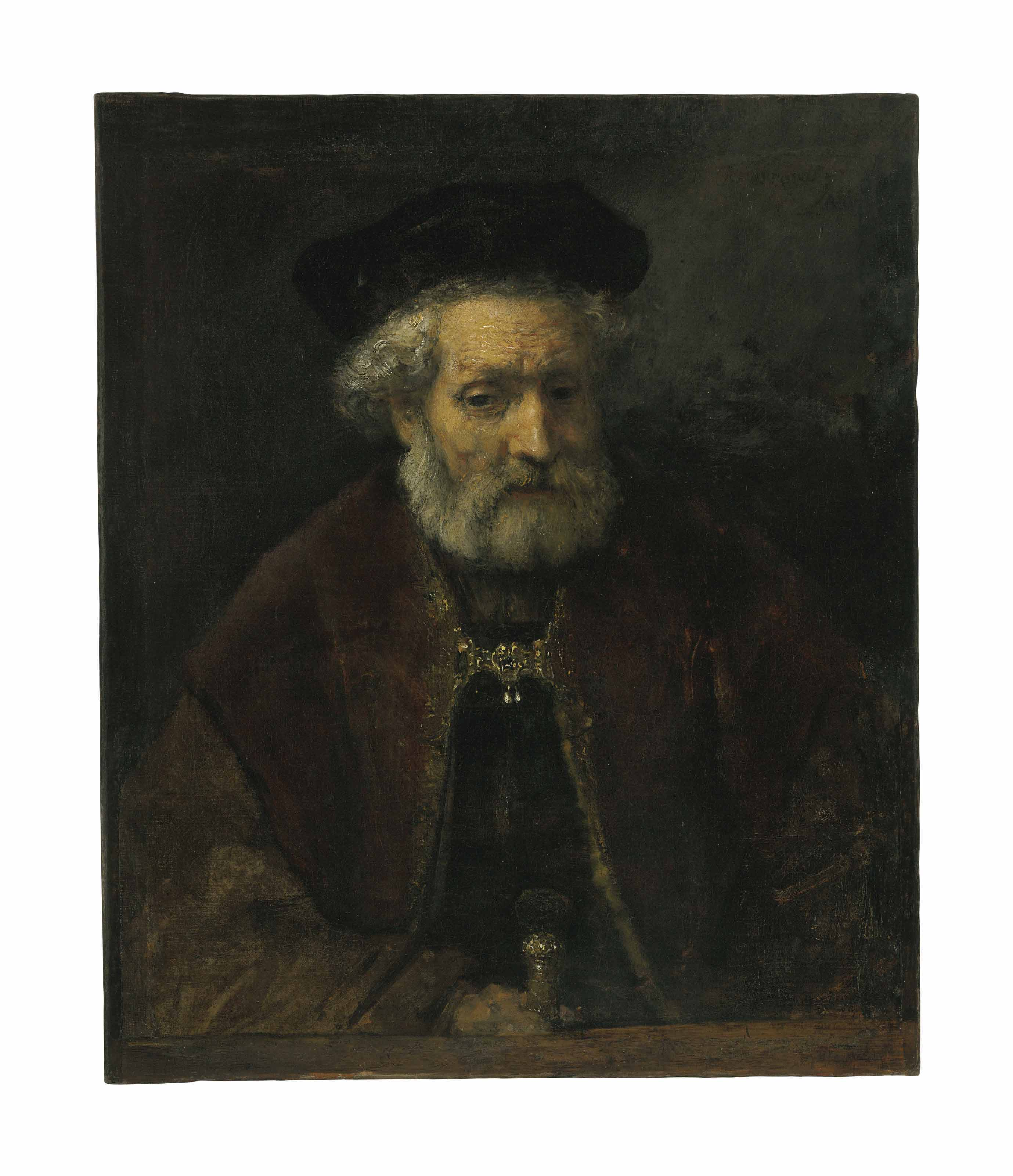 An Old Bearded Man
