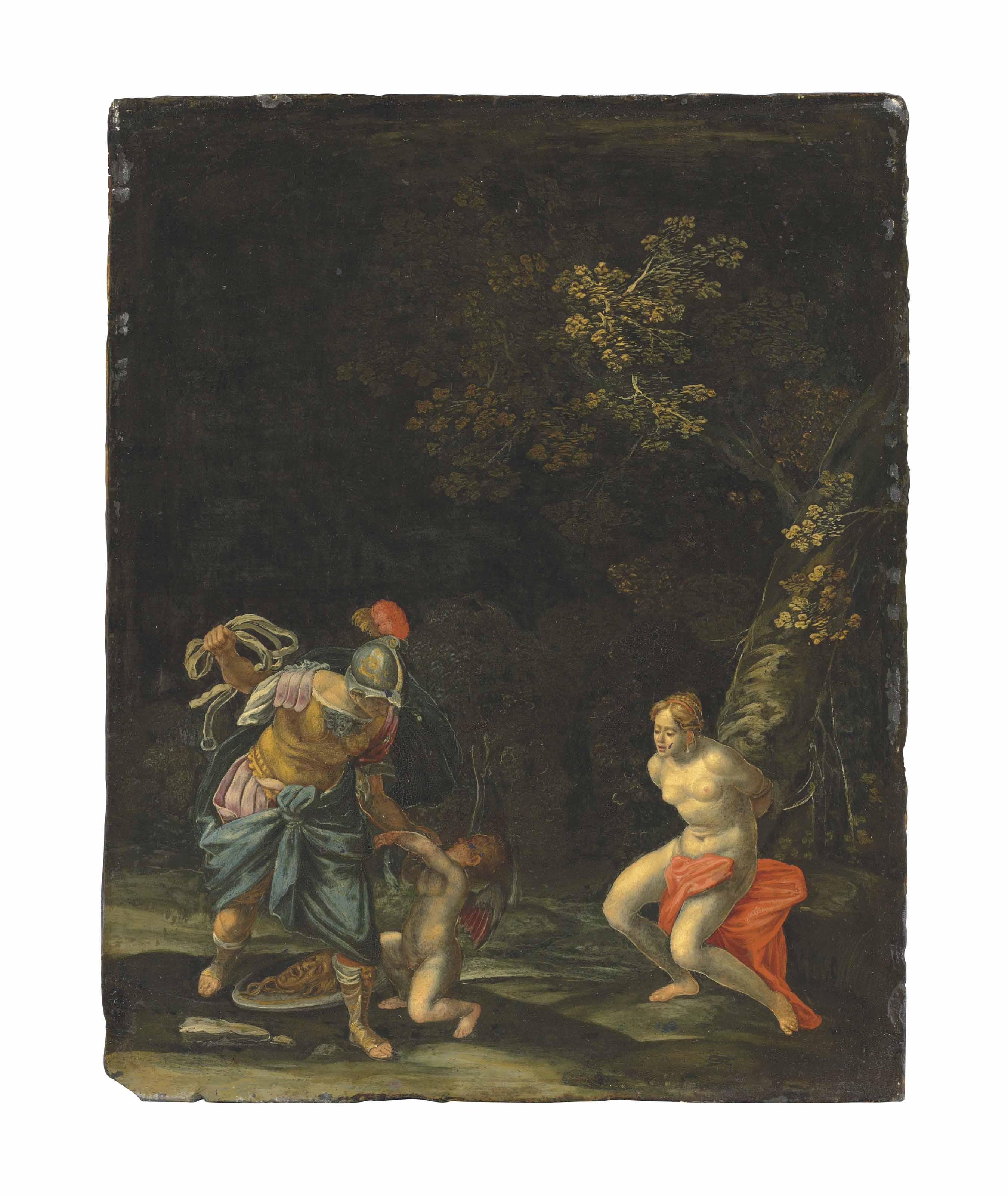 The Punishment of Cupid