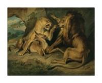 Lions at a Kill