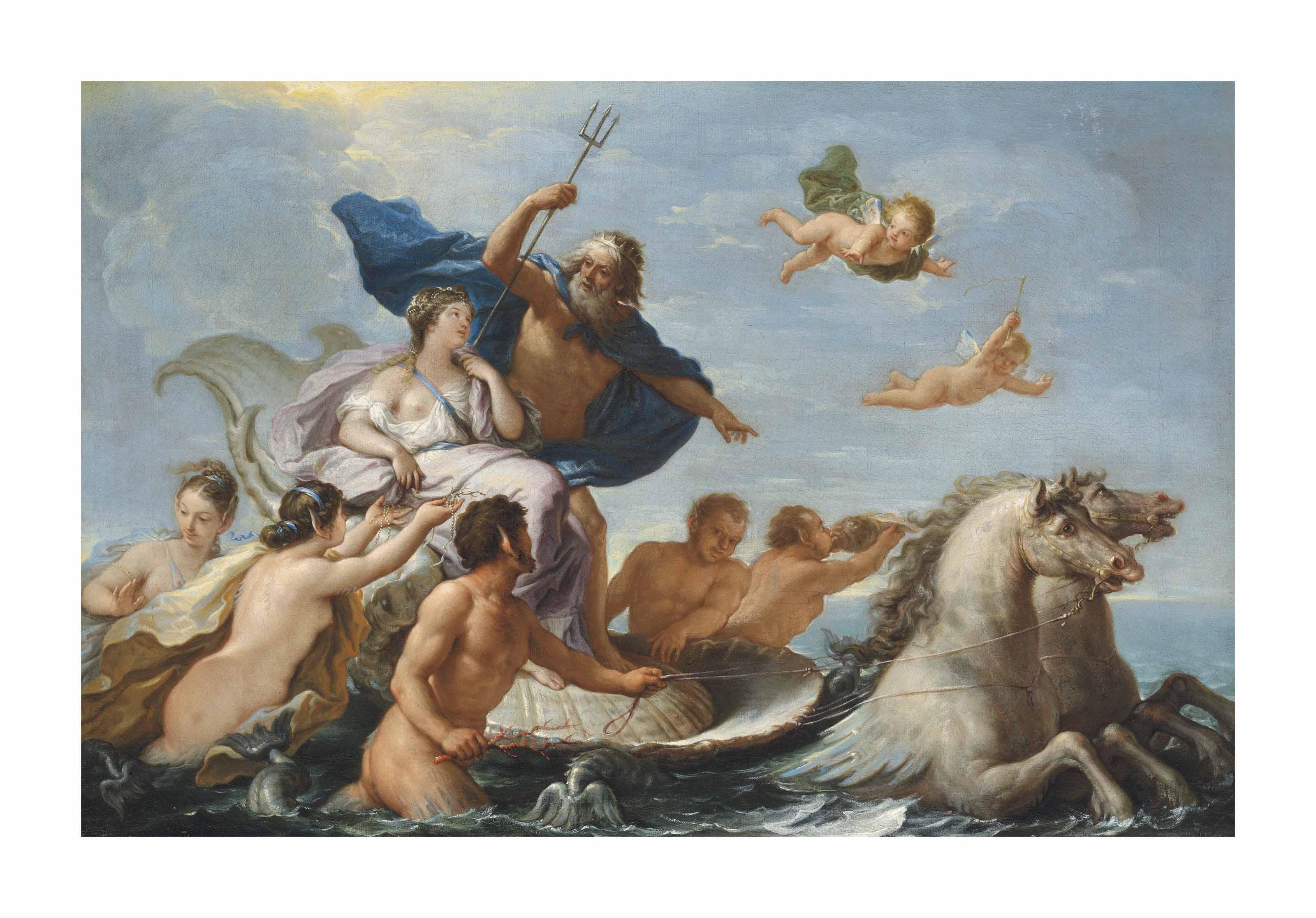 The Triumph of Neptune and Amphitrite