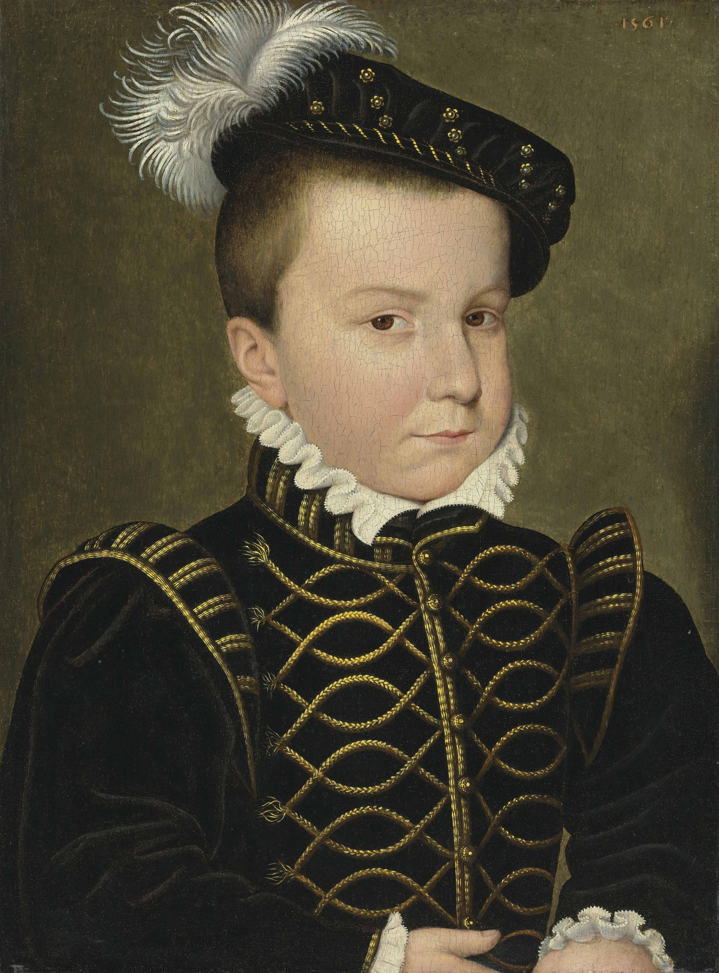 Portrait of Hercule-François, Duke of Alençon and of Anjou (1555-1584)