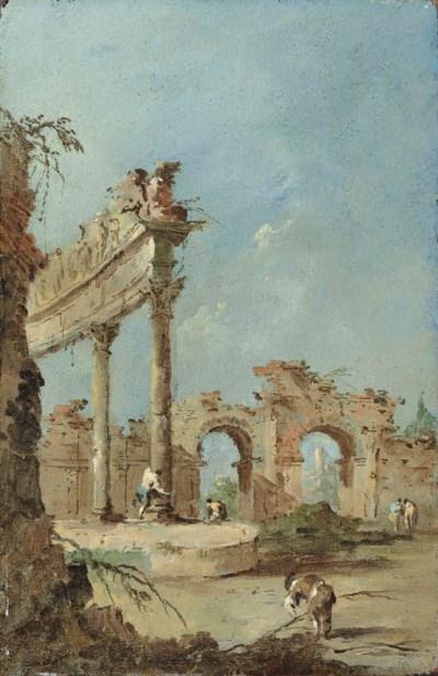 Francesco Guardi: Francesco Guardi (Venice 1712-1793) , An Architectural