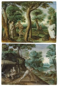 The Expulsion from Paradise; and The Labours of Adam and Eve
