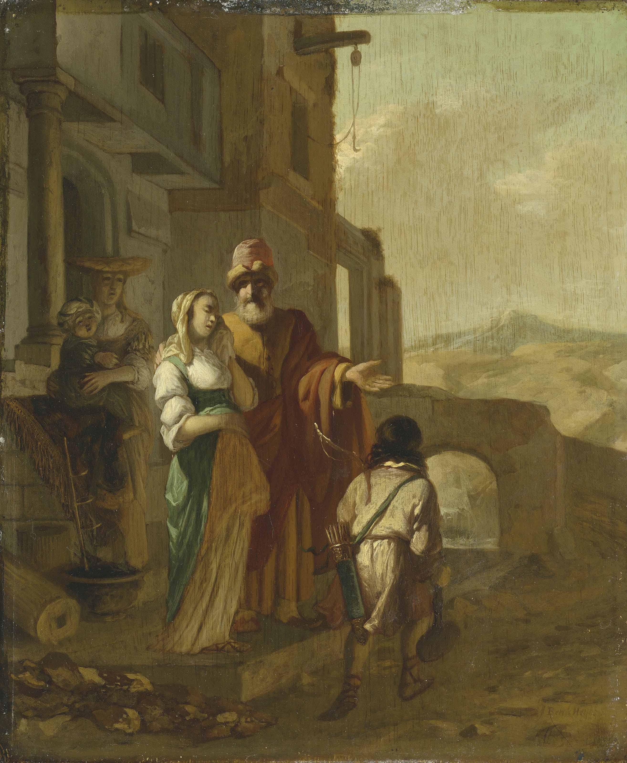 The banishment of Hagar and Ishmael