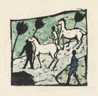 Weisse Pferde