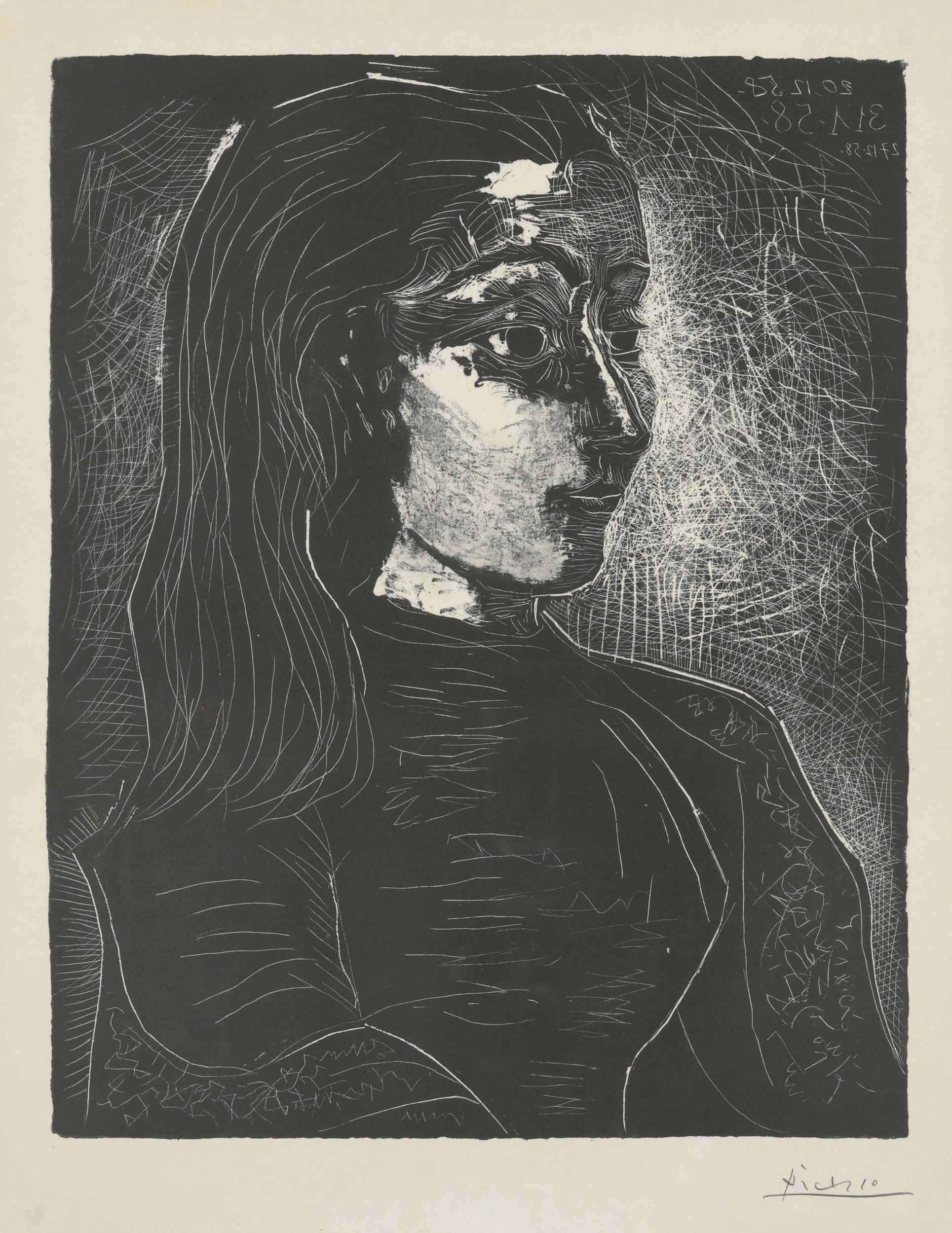 20216686c03 PABLO PICASSO (1881-1973). Jacqueline de ...