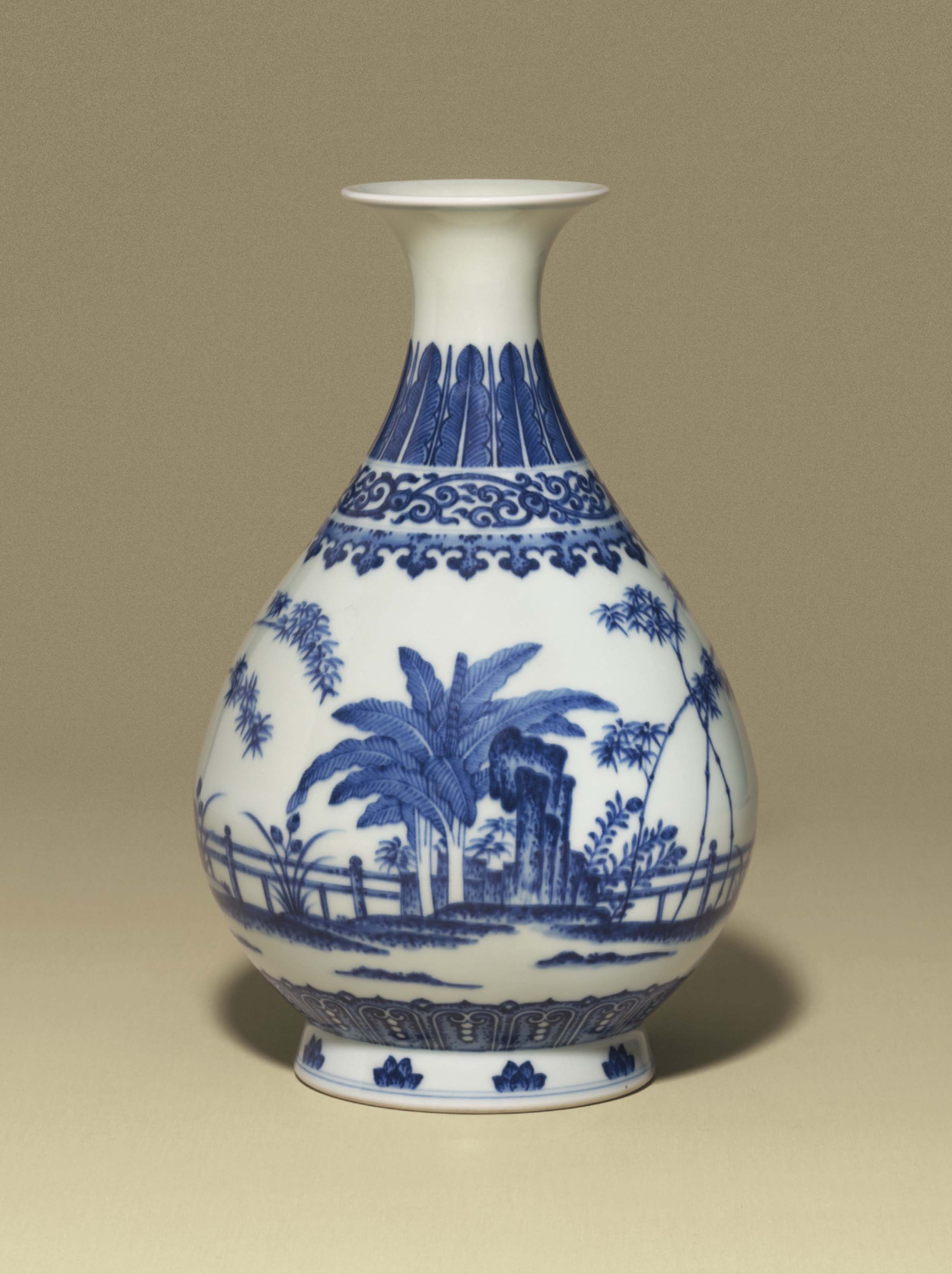 Oriental Style Vase Asian Antiques charity Sale