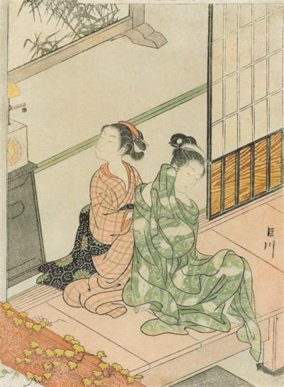 SUZUKI HARUNOBU (1725–1770)