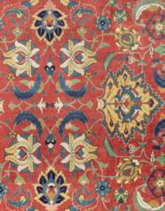 A SIGNED 'PETAG' TABRIZ CARPET