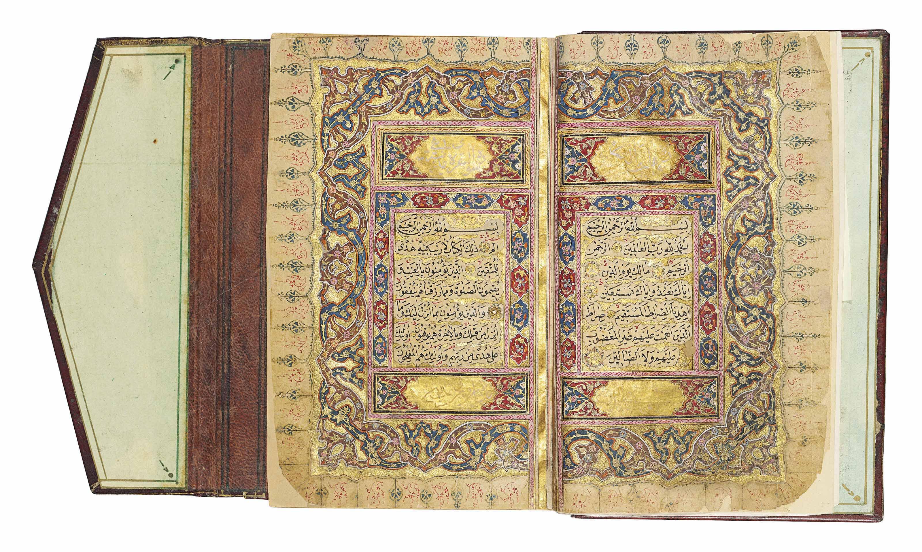 Qur An Signed Husayn Al Zaki Bin Hassan A Student Of