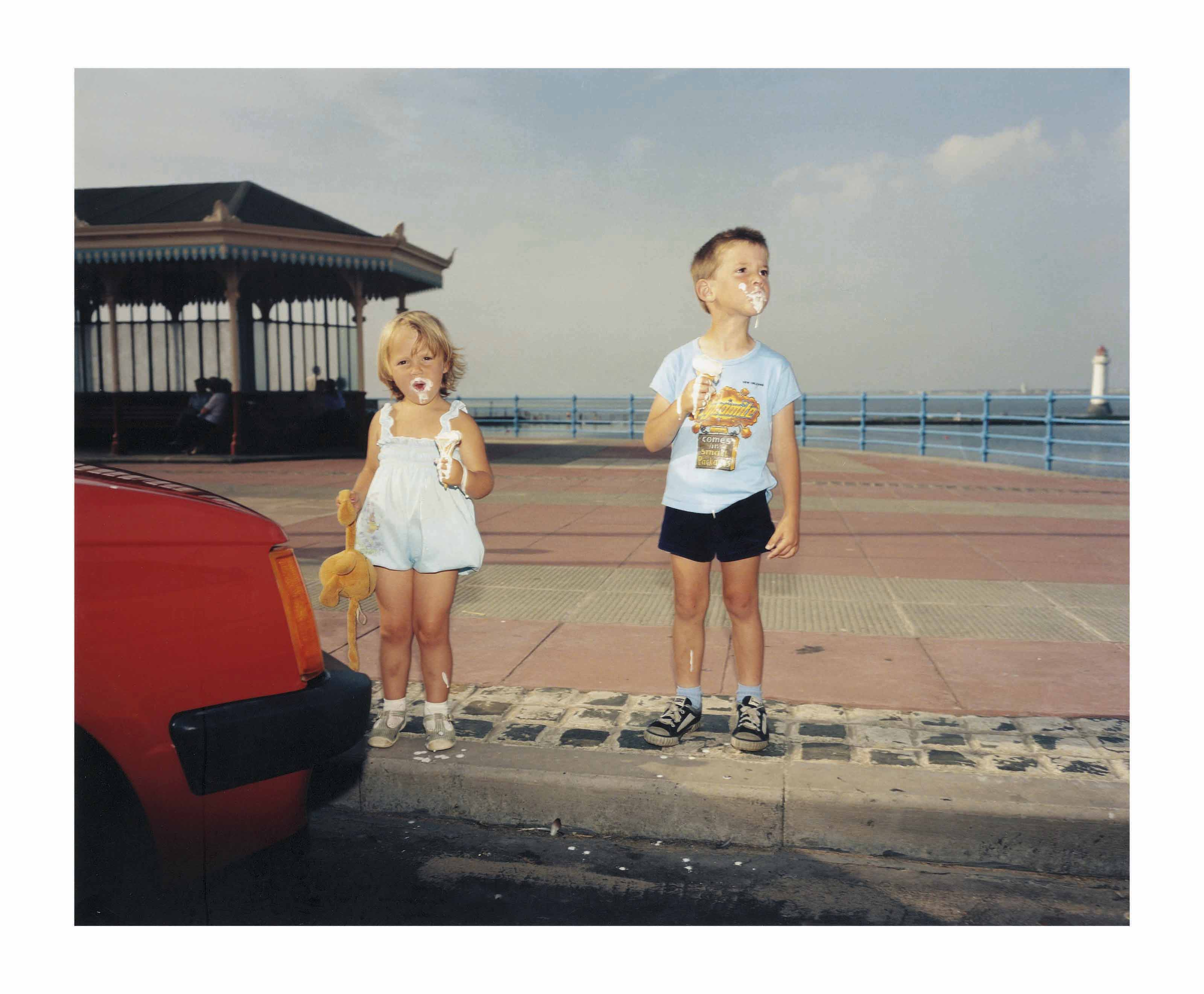 GB., England, New Brighton, from The Last Resort, 1983-1985