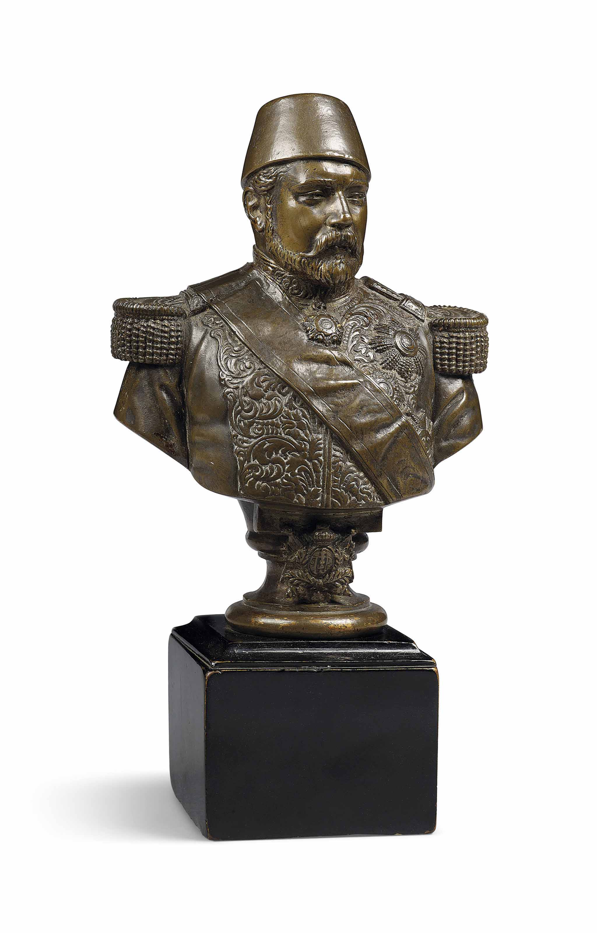 Bust of Ismail Pasha, Khedive of Egypt