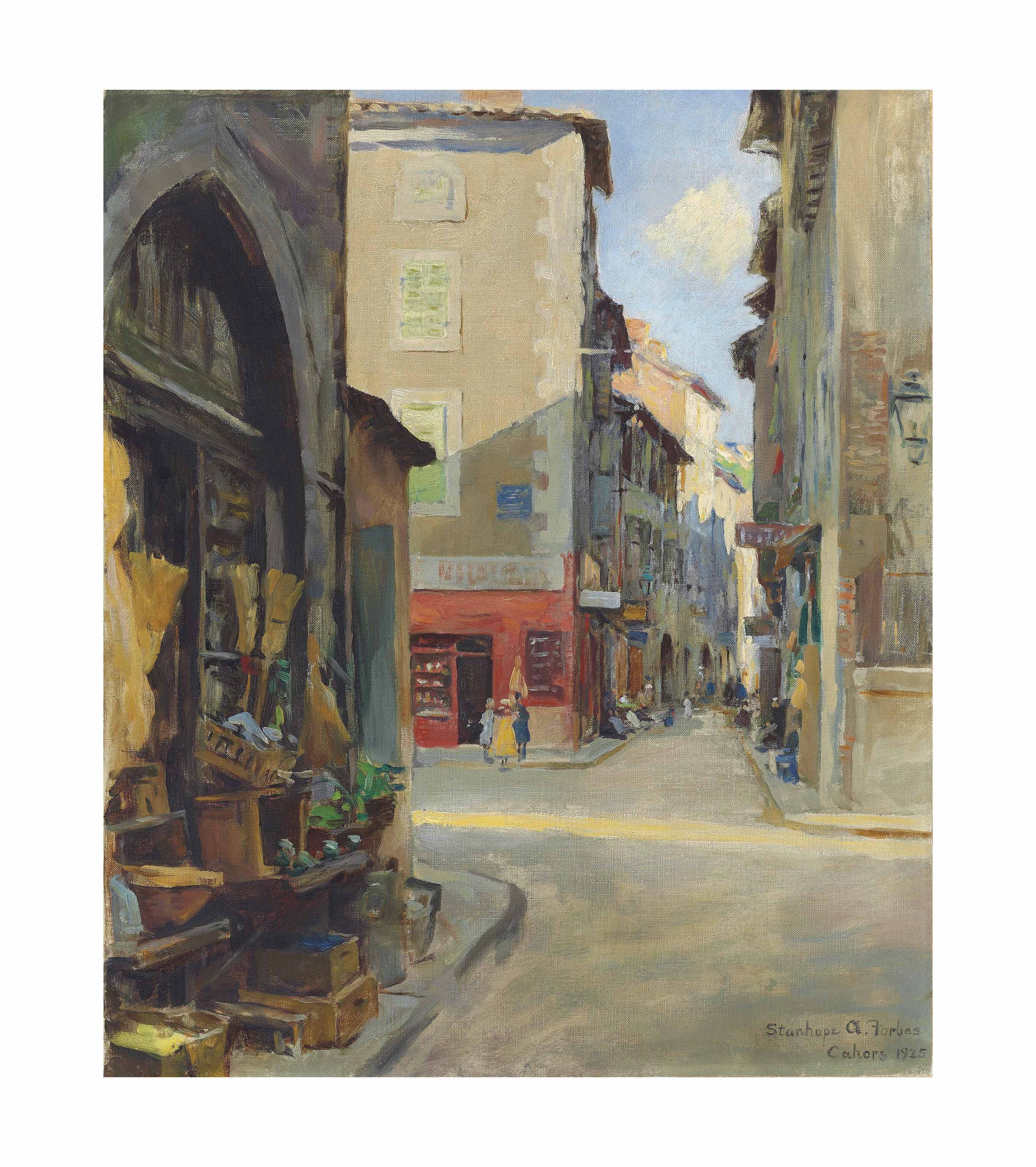 Street corner, Cahors