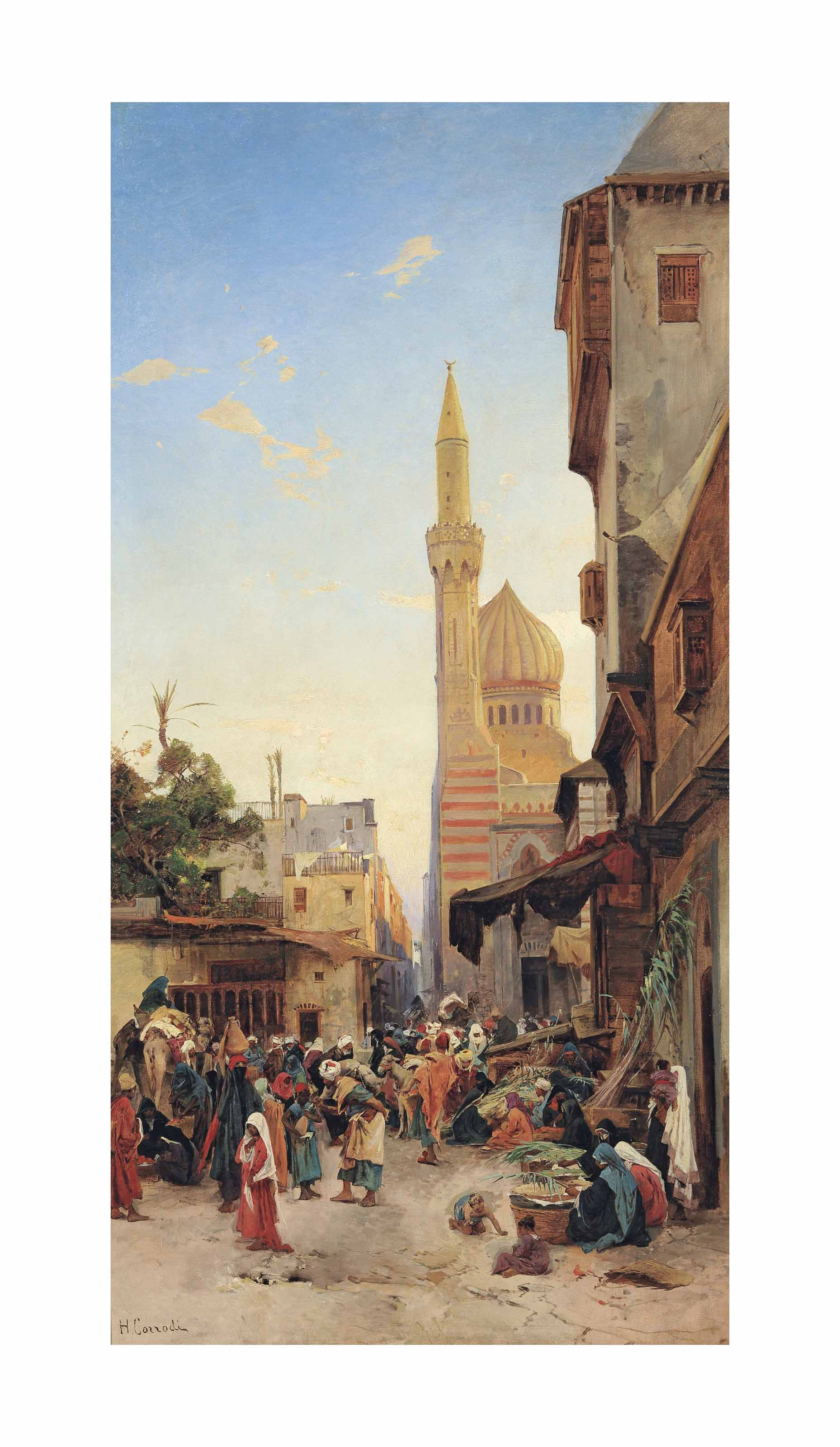 A market in Cairo