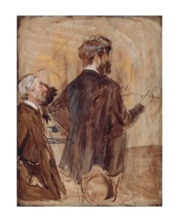Connoisseurs in an Artist's studio
