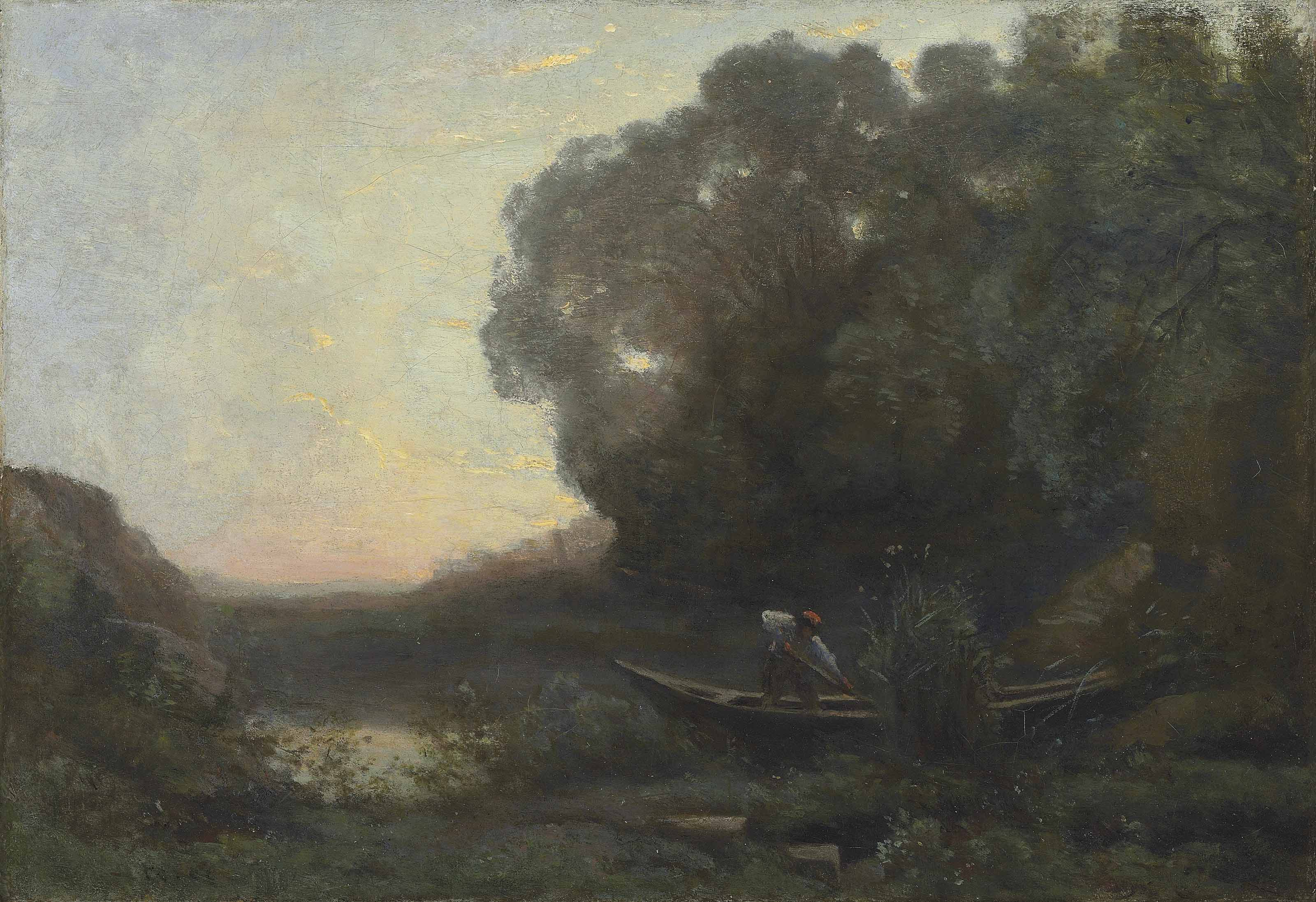 Jean Baptiste Camille Corot French 1796 1875 Le