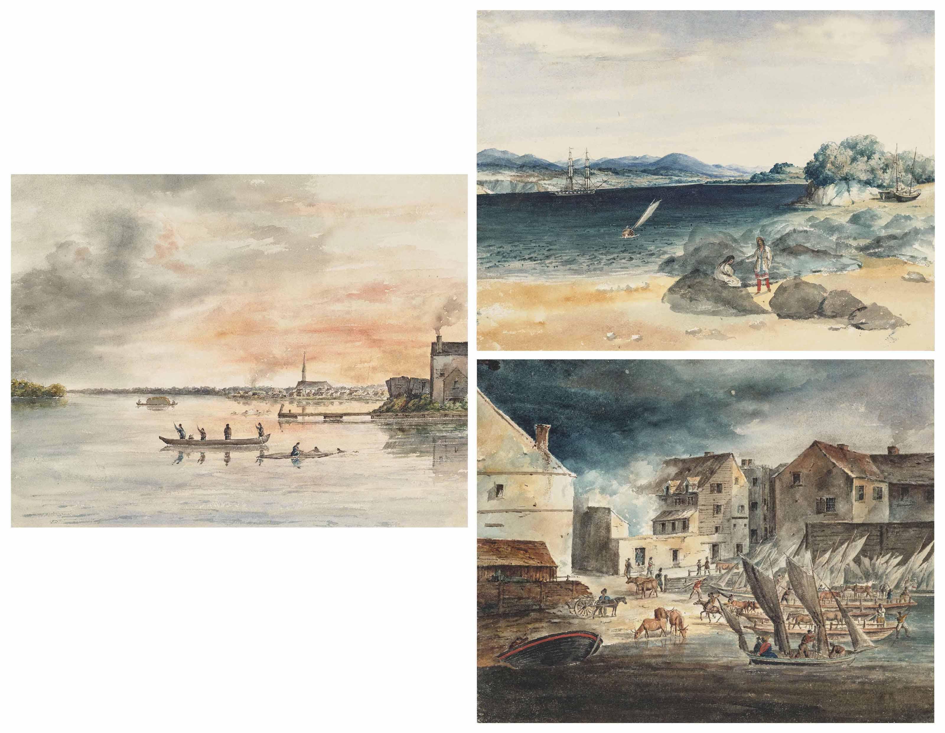 Vues dessinés d'après Nature dans mon voyage aux Etats-unis de l'Amerique du Nord en 1831. – Canada