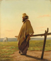 A Gaucho, at dawn