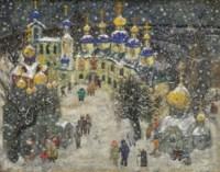 Kremlin under the snow