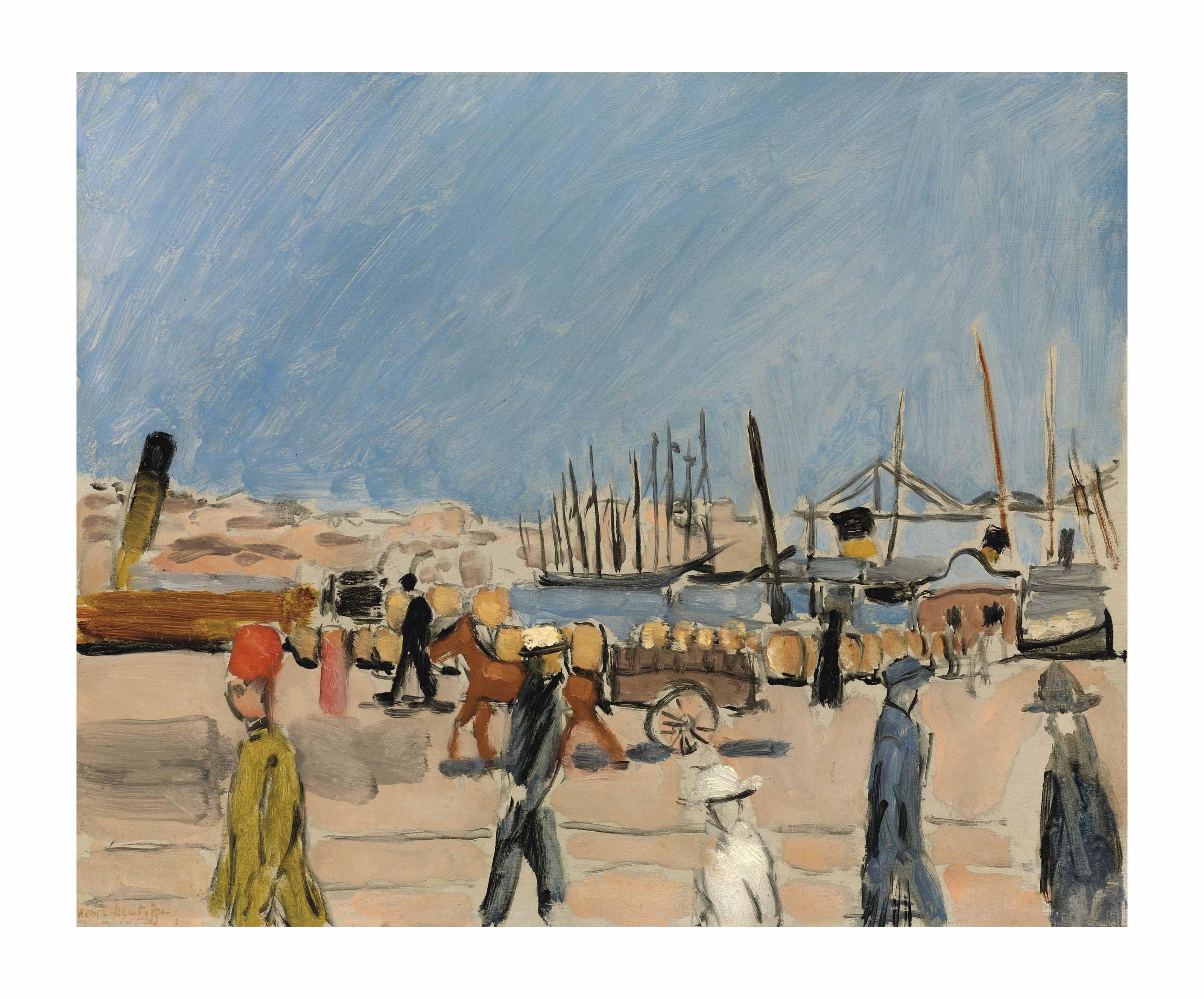 Henri matisse 1869 1954 la chemin e du roi marseille for Garage henri marseille