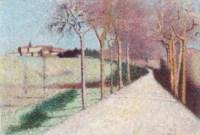La route de Cailhau (Aude)