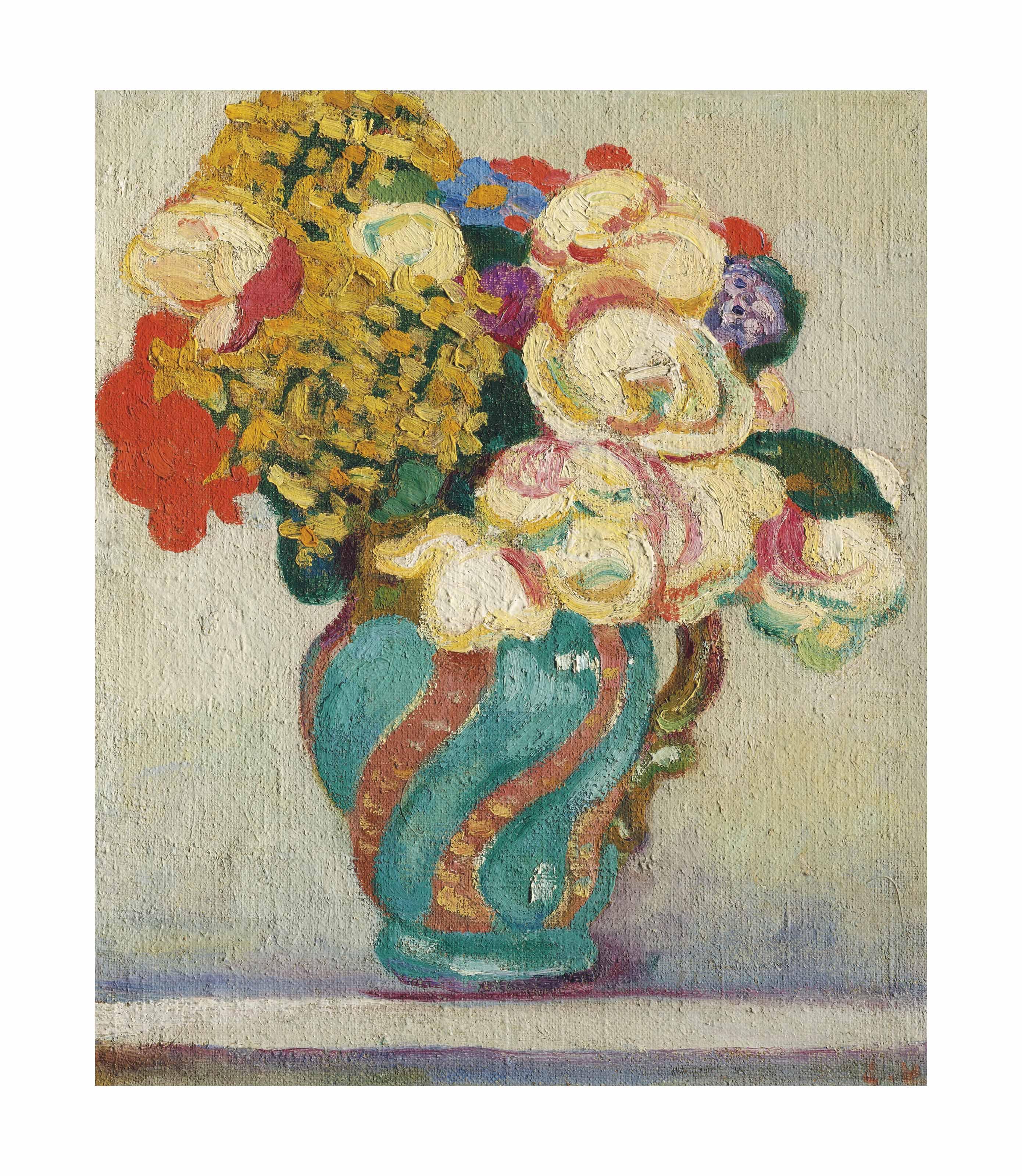 Louis valtat 1869 1952 bouquet de fleurs christie 39 s for Bouquet de fleurs 2017