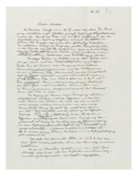 EINSTEIN, Albert (1879-1955). Autograph letter signed ('Albert') to Michele Besso, [Princeton], 29 July [1953].