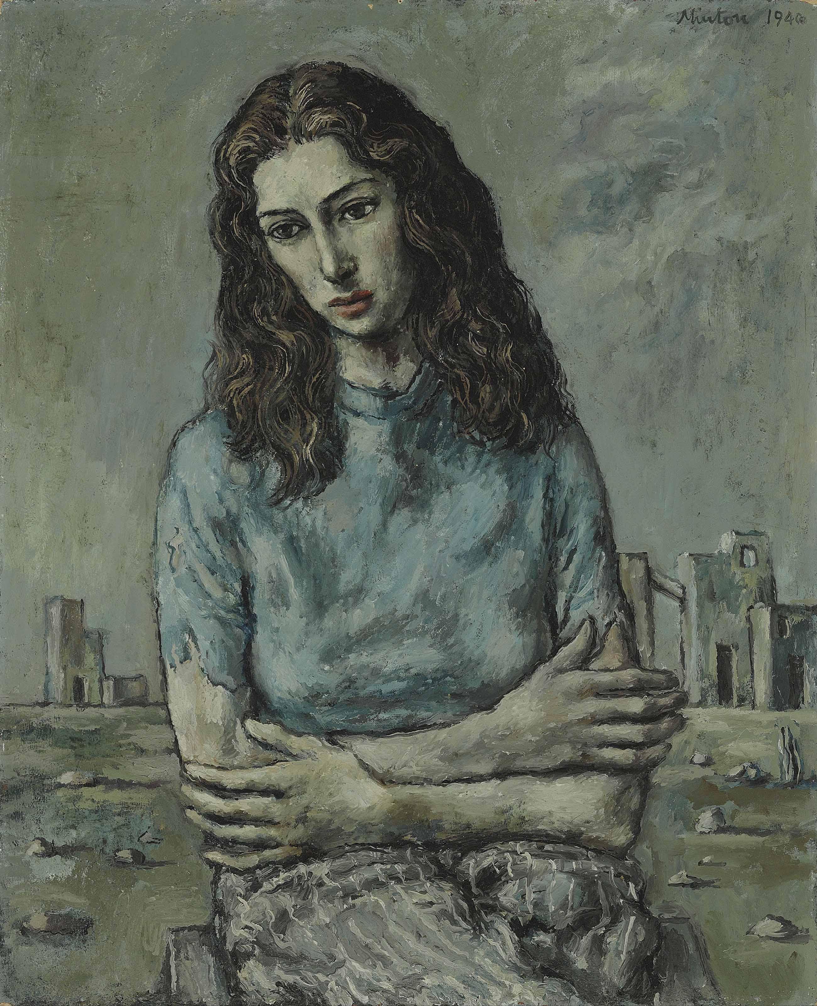 Portrait of Myra Davis