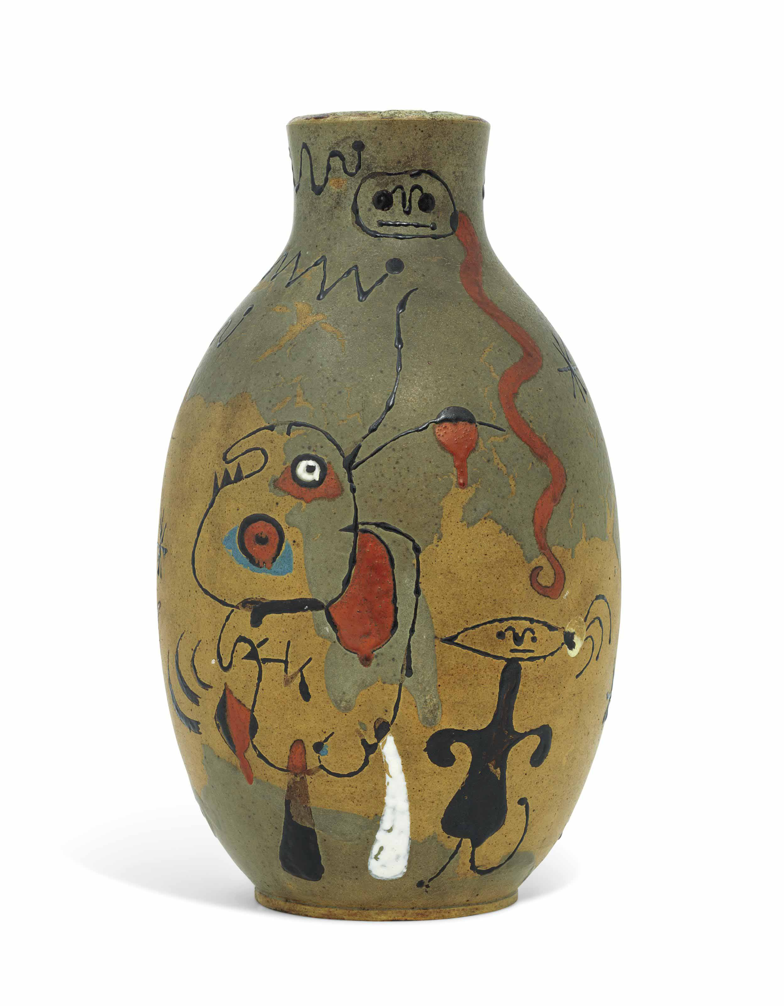 Joan Miro (1893-1983) and Josep Llorens Artigas (1892-1980)
