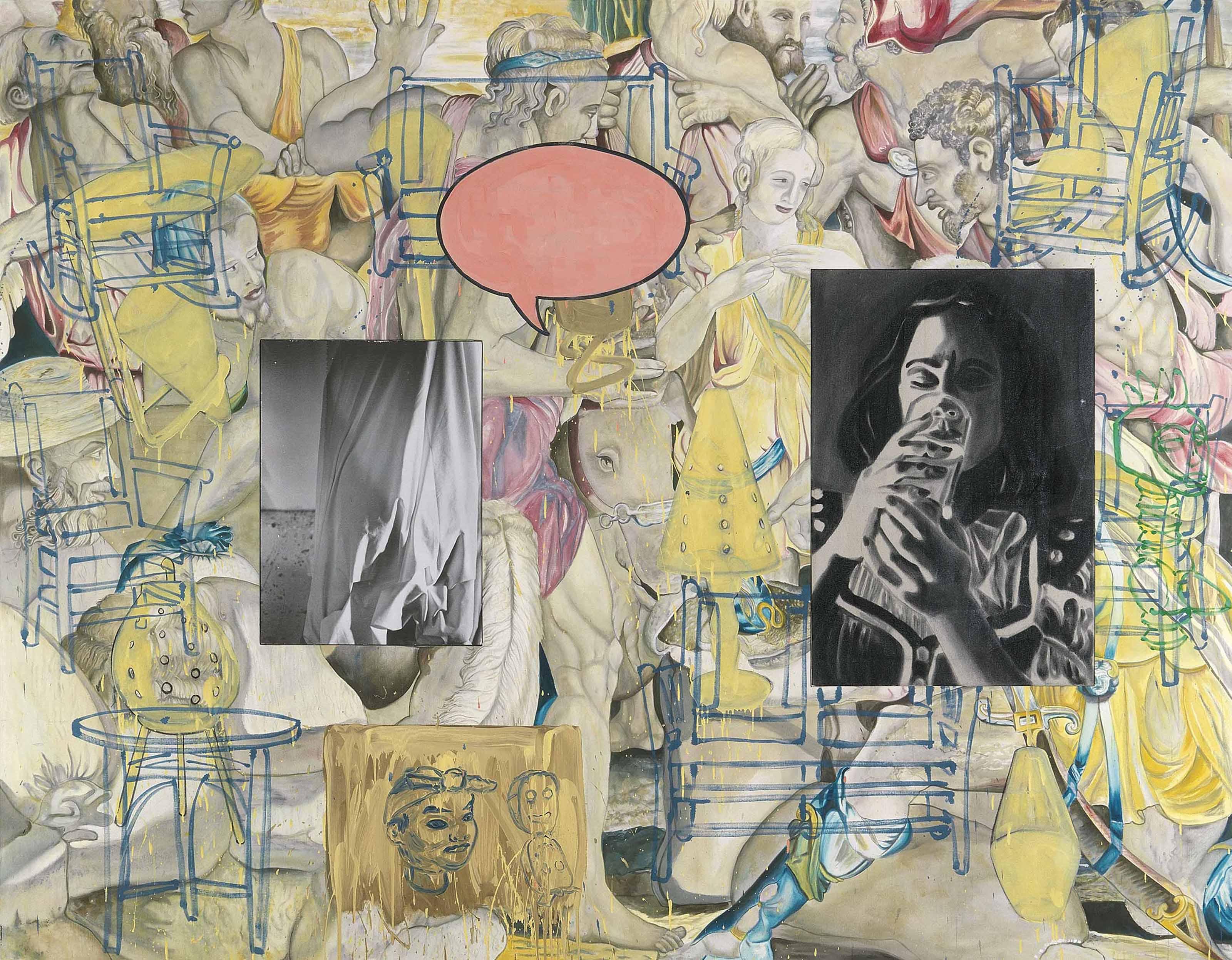 David Salle (b. 1952)