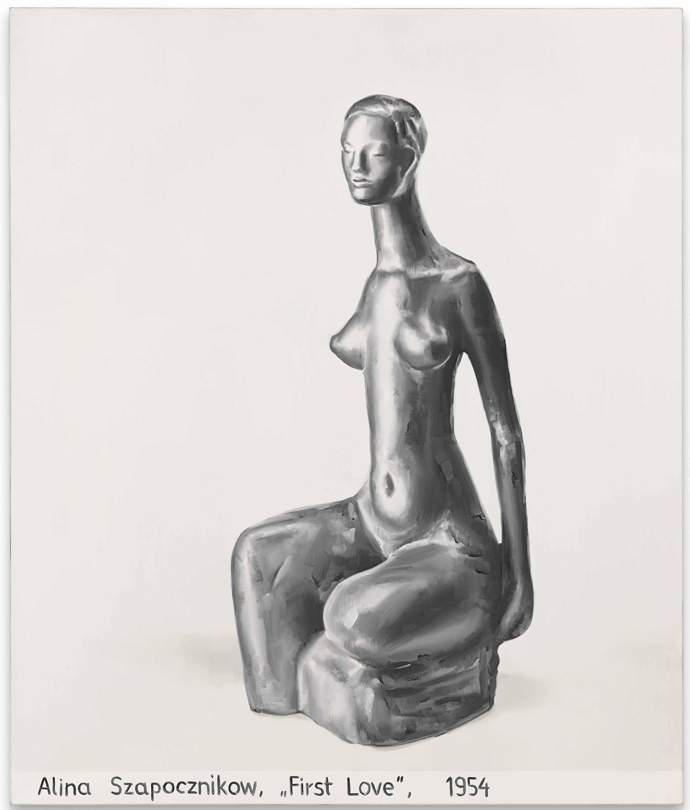 "Alina Szapocznikow, ""First Love"" 1954"
