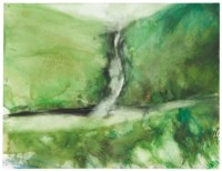 Untitled (Landscape with Waterfall, Scotland II)