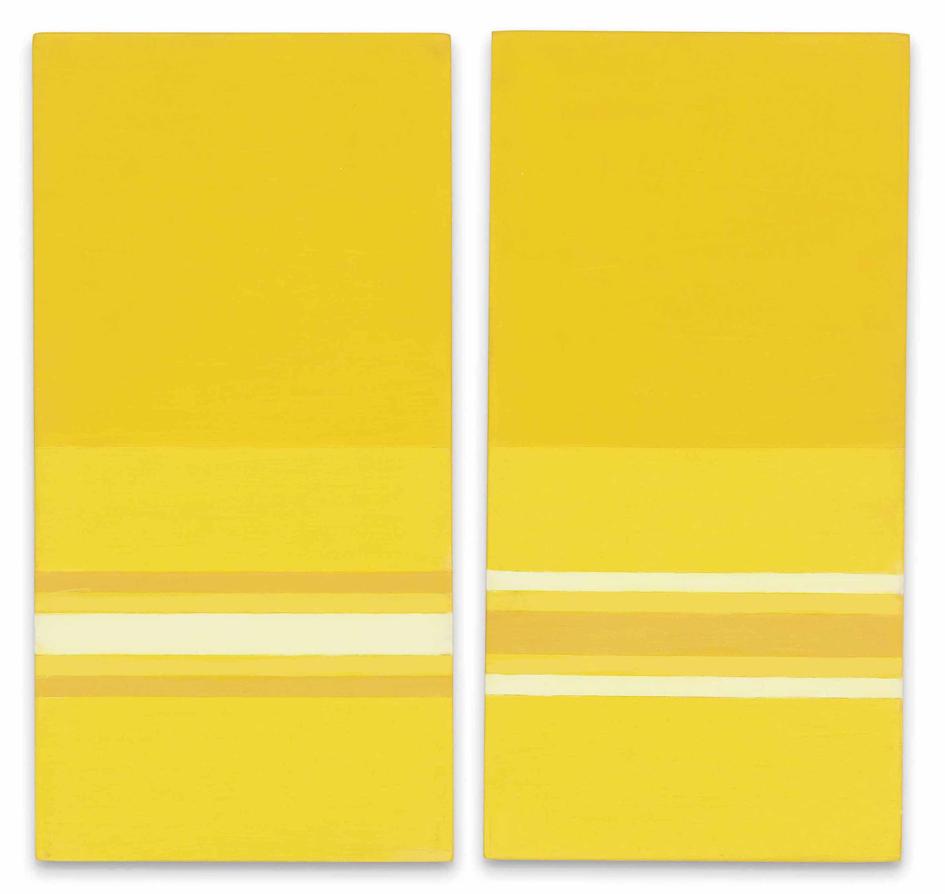 Orizzonte bicromo (-); Orizzonte bicromo (+) (Bicolour Horizon (-); (Bicolour Horizon (+))