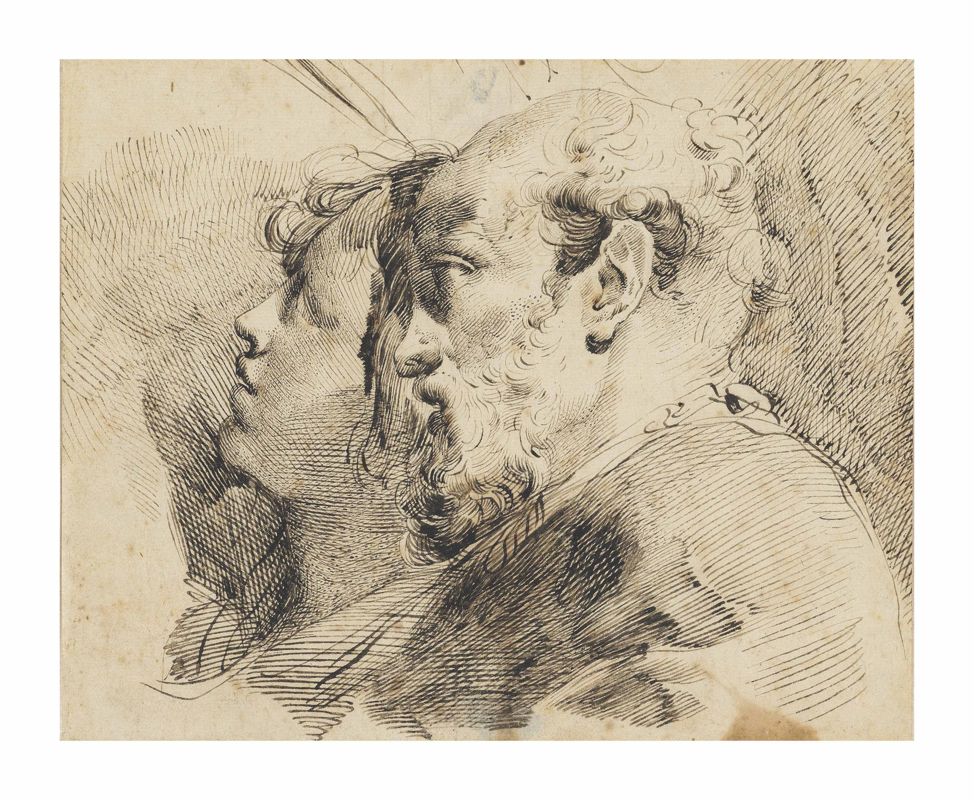 Youth and Age: study of two heads