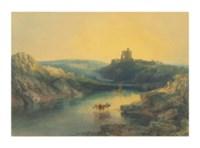 Norham Castle: Sunrise
