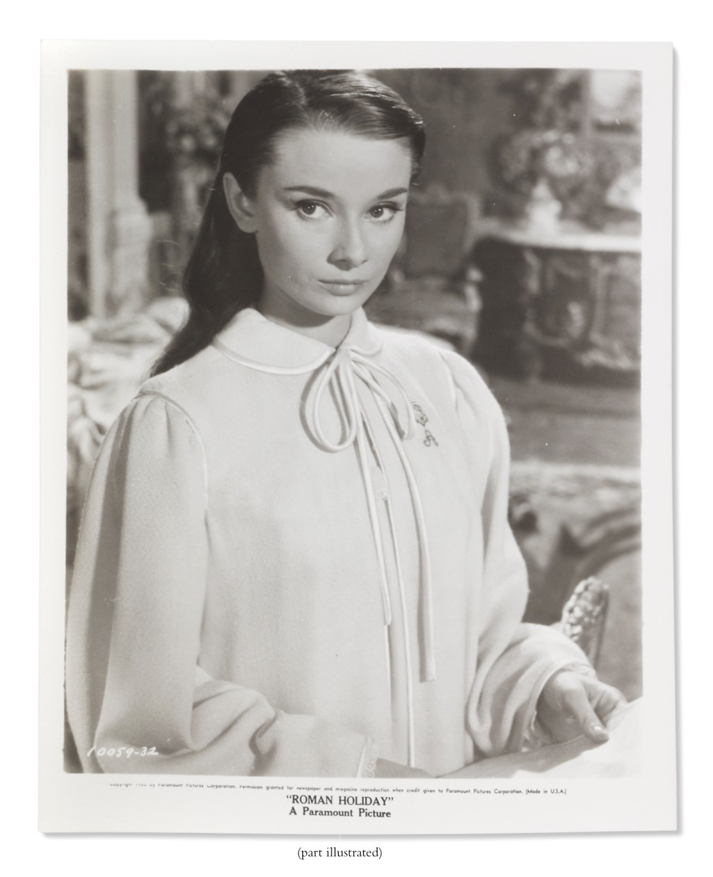 Audrey Hepburn The Personal Collection Christie S
