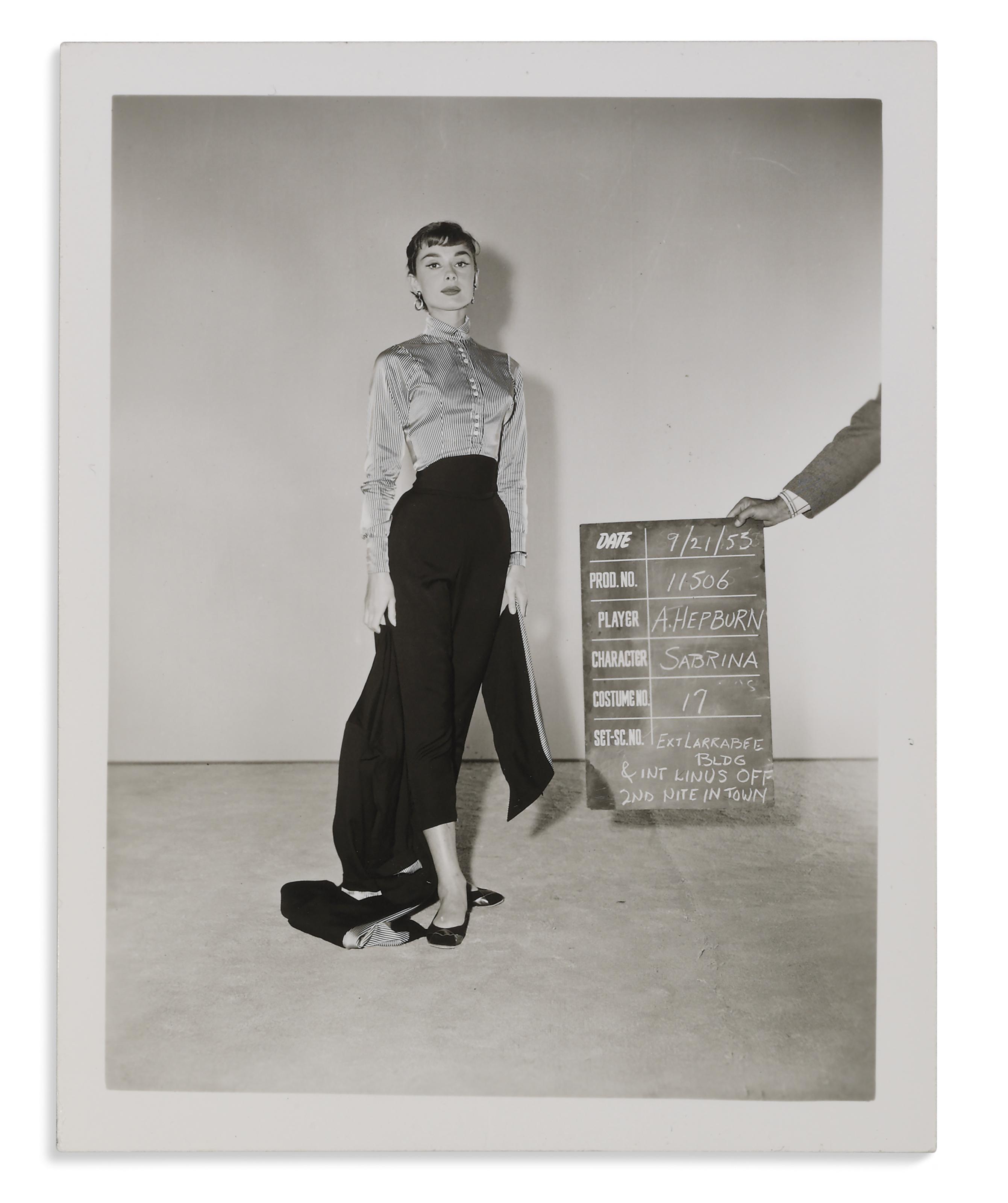 SABRINA, 1954 , Audrey Hepburn as Sabrina Fairchild for ...