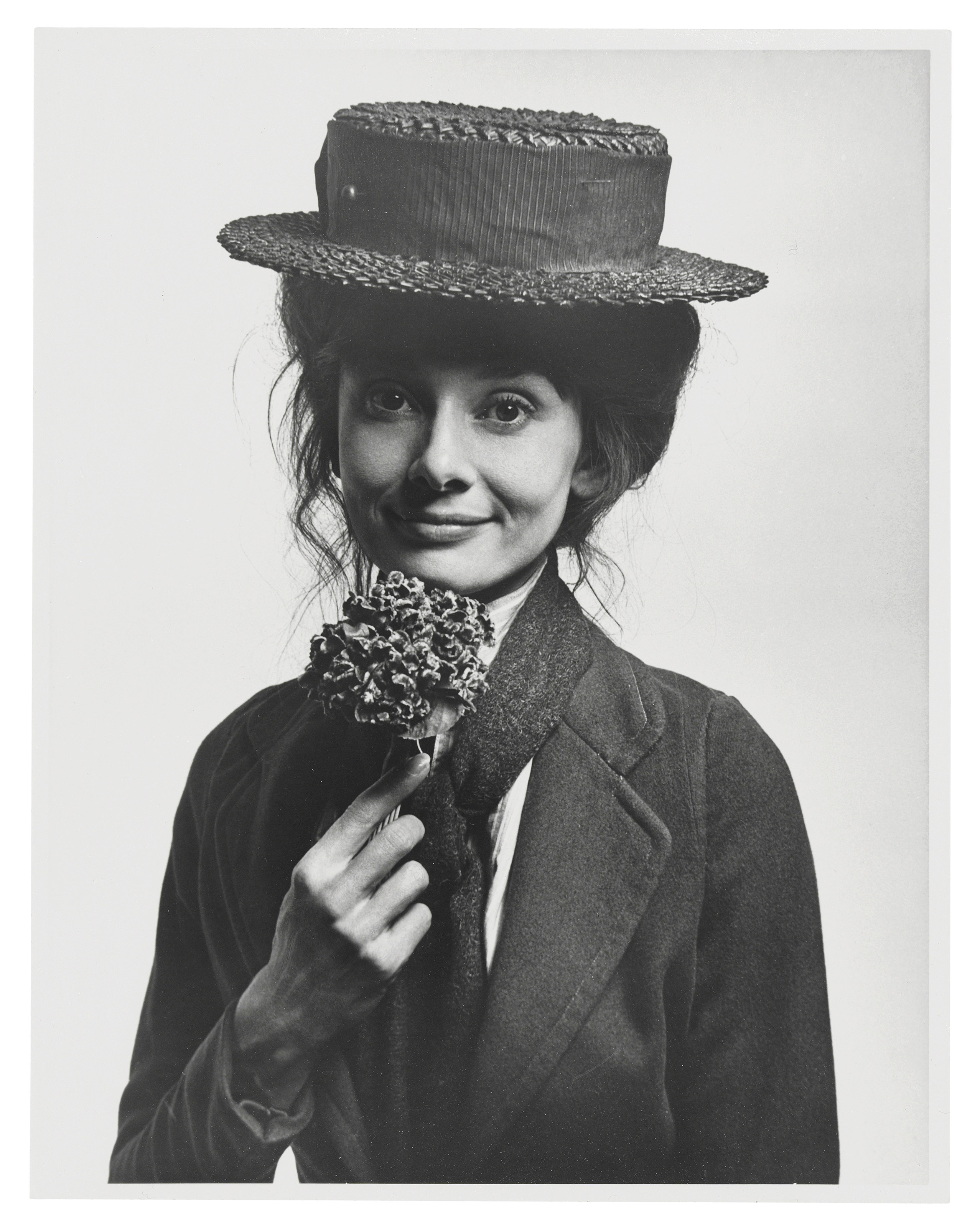 Audrey Hepburn as Eliza Doolittle, 1963