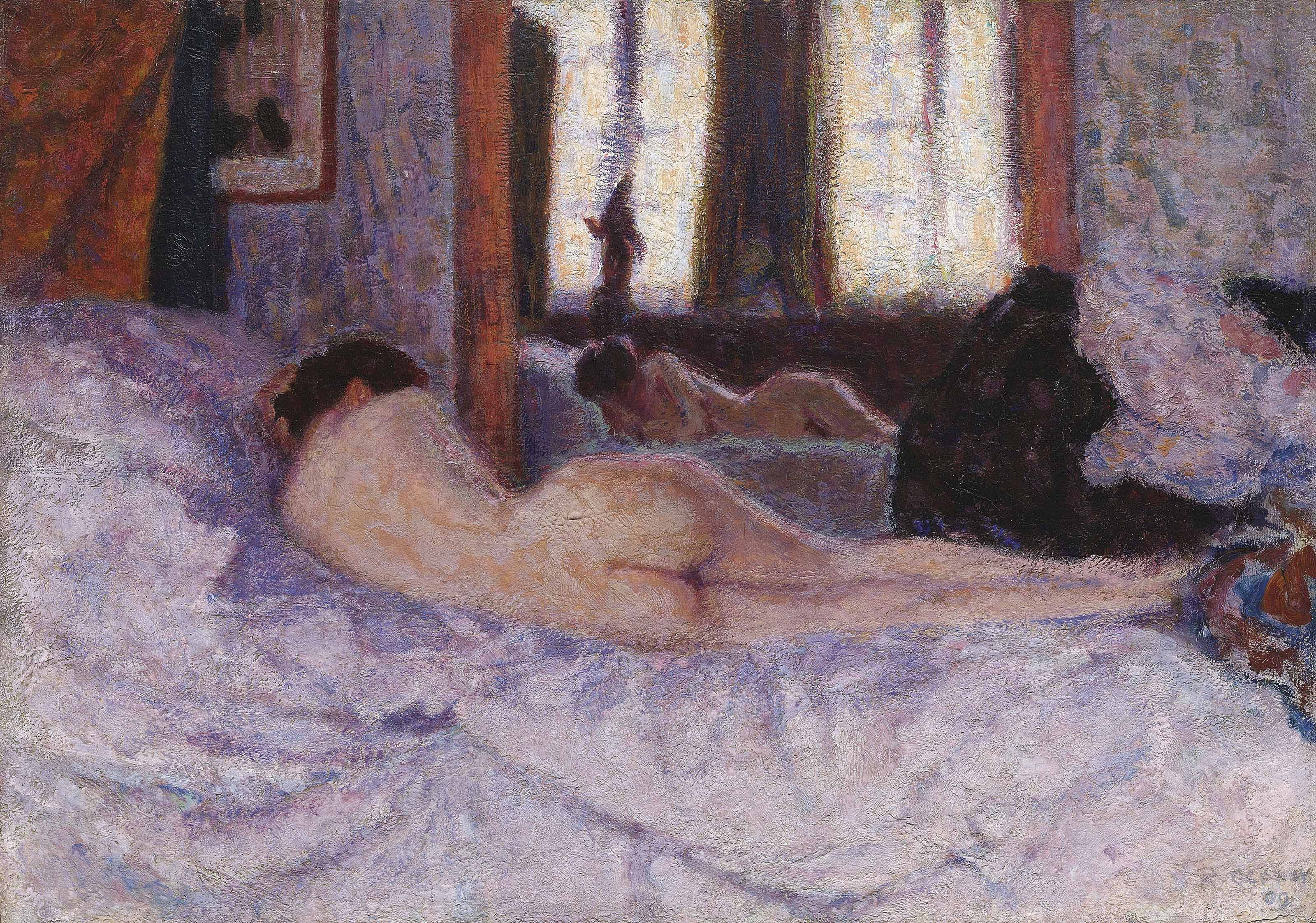 Reclining Nude before a Mirror II