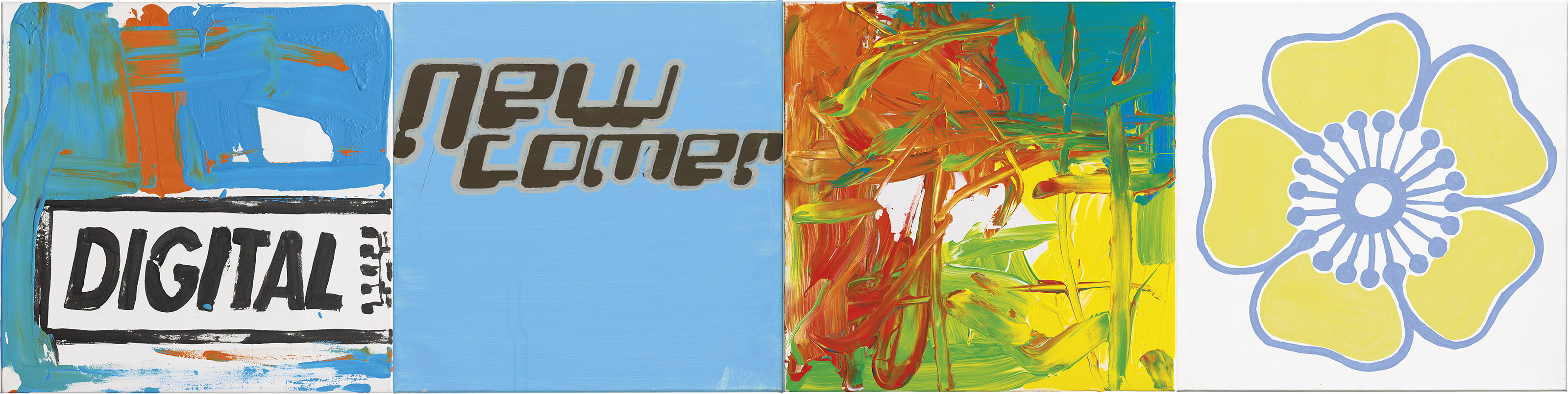 (i) Untitled, 664, (ii) Untitled, 666, (iii) Untitled, 903, (iv) Untitled, 904