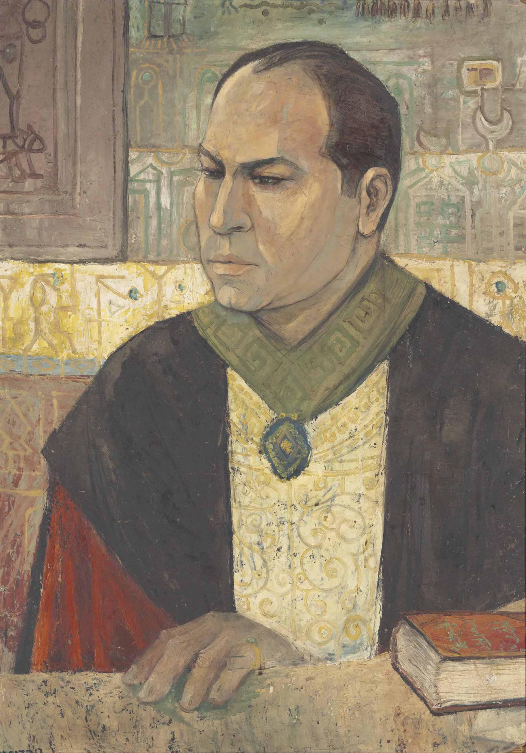 Portrait of Salah Youssef Kamel