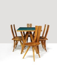 A rare and important dining suite