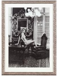 """Charlotte Rampling"" at the Hotel Nord Pinus, Arles, France 1973"